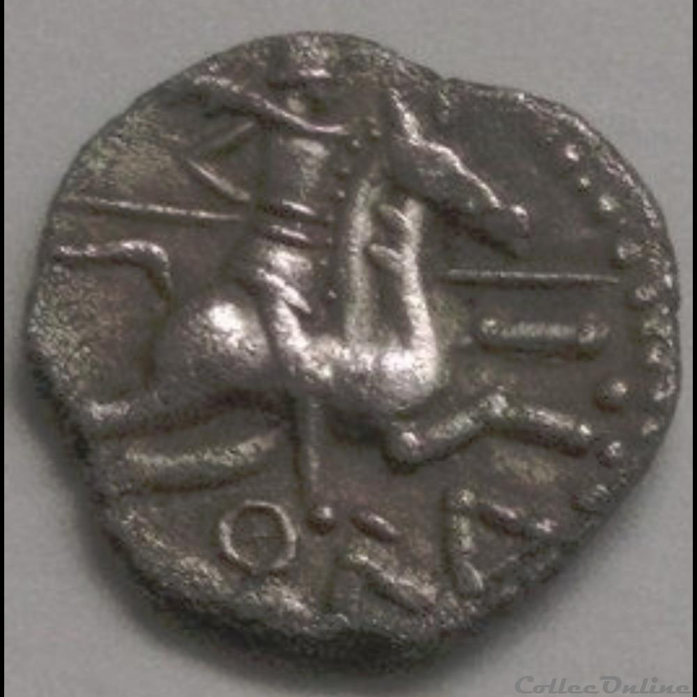 monnaie antique gauloise serie 869 dt denier au cavalier