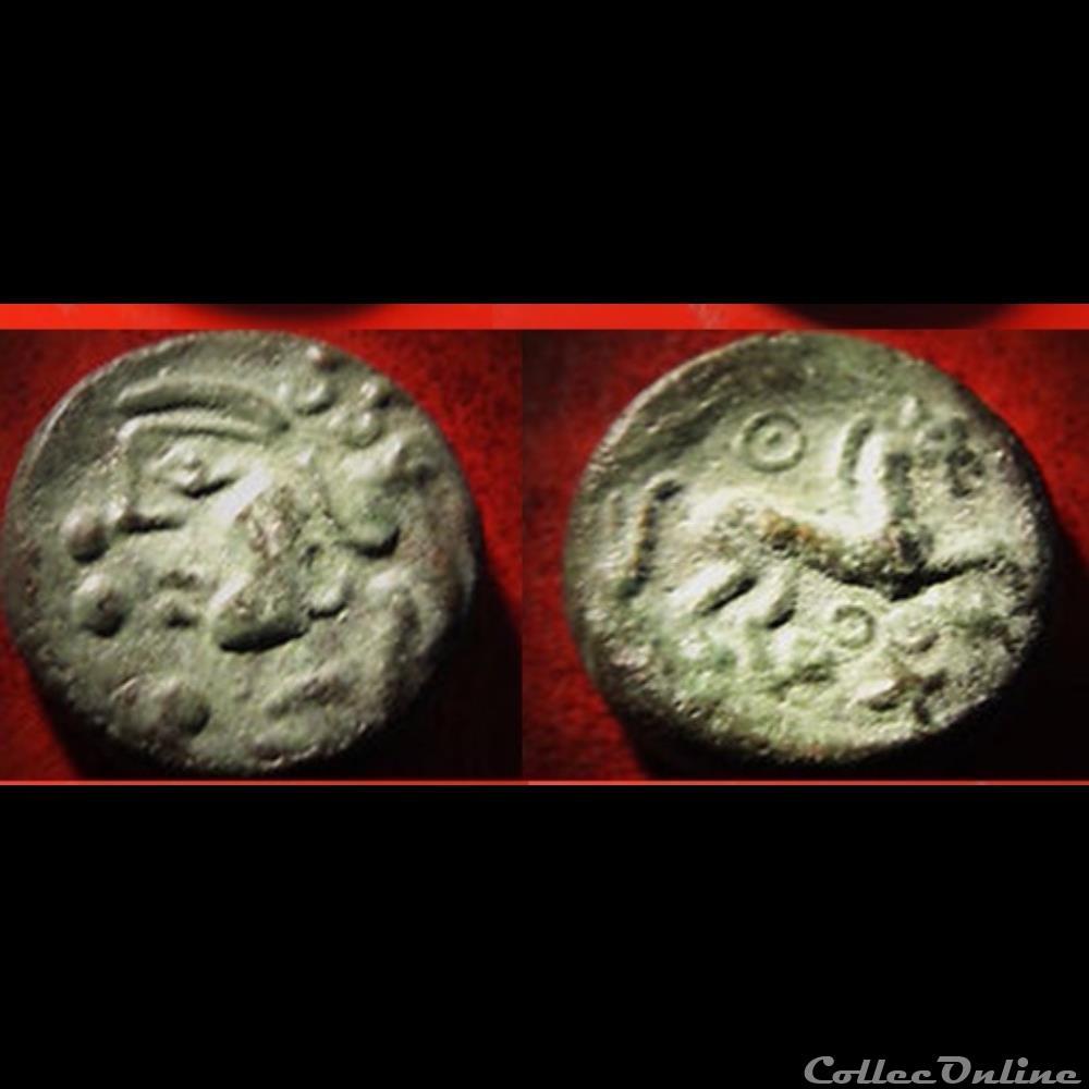 monnaie antique gauloise faux bronze ambiani