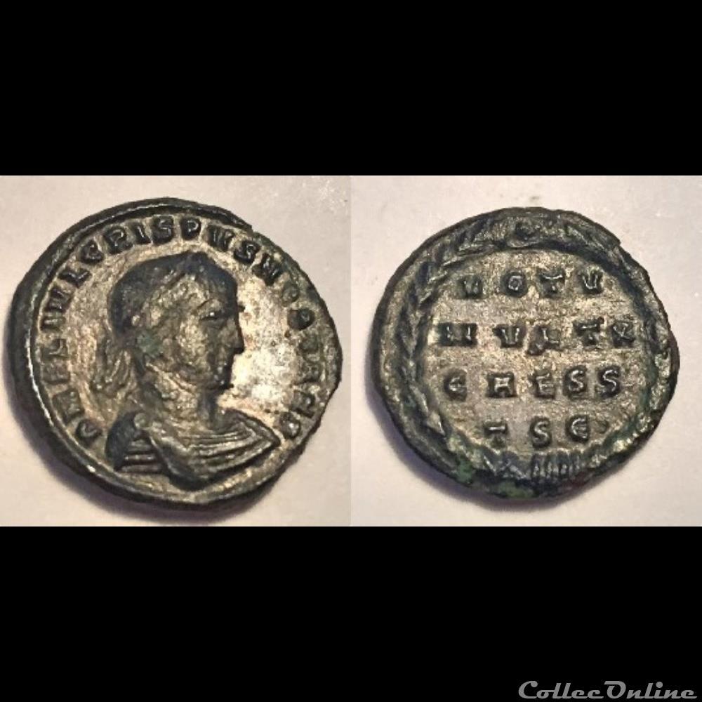 coin ancient roman crispus