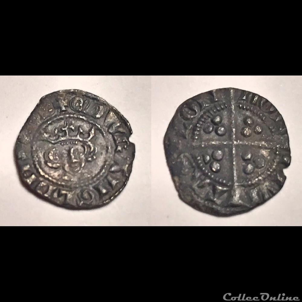 coin ancient other edward i halfpenny