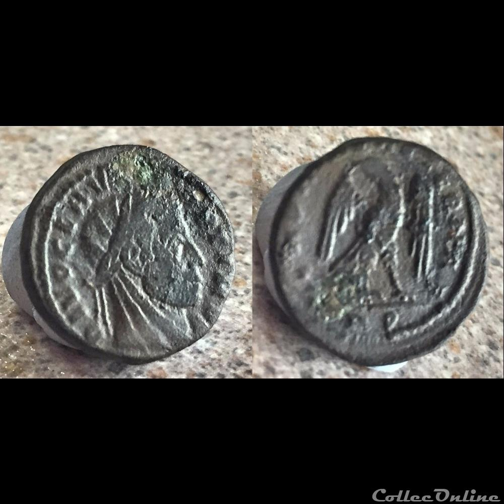 coin ancient roman divo clavdio claudius ii