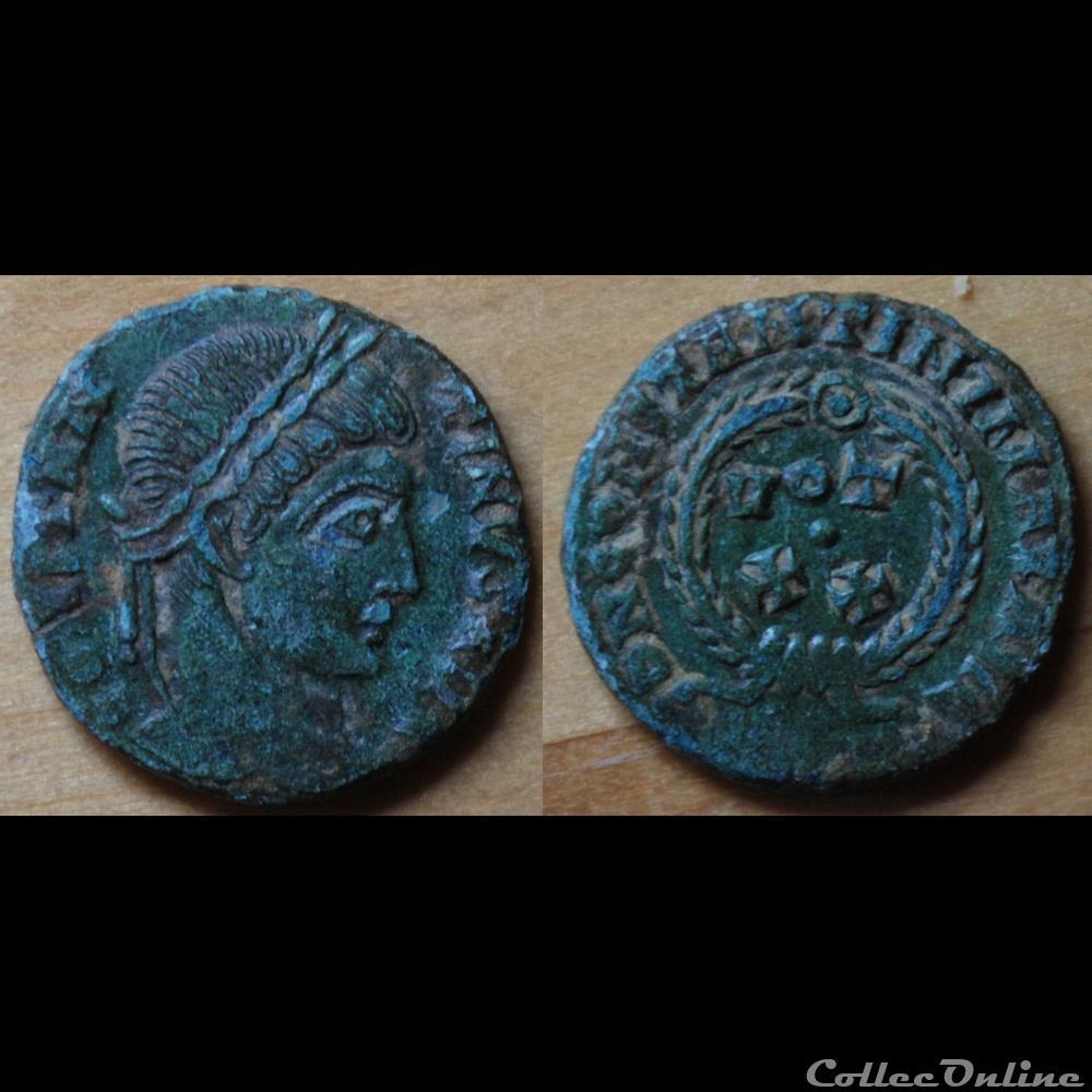 monnaie antique romaine nummus constantin i vot xx