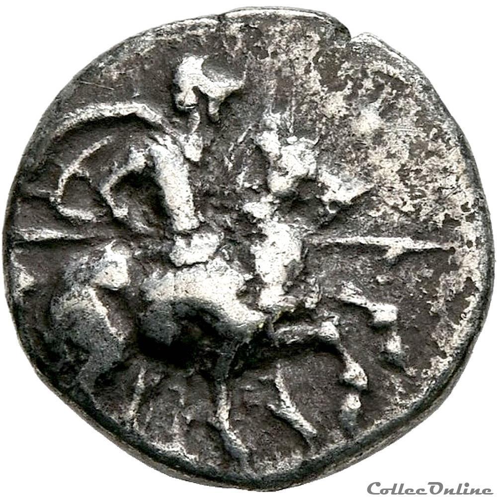 monnaie antique jc ap grecque ionie magnesie du meandre ive siecle avant j c diobole