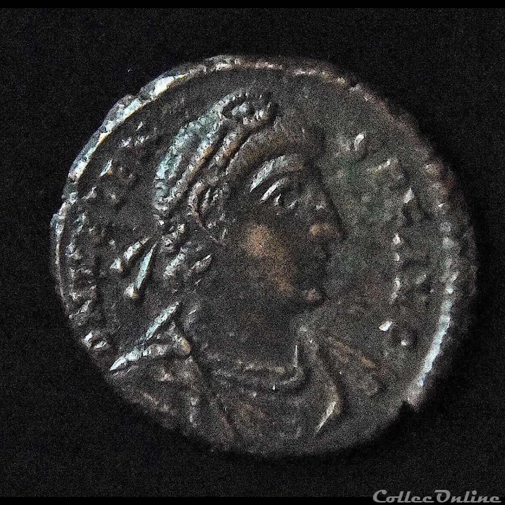 monnaie antique romaine valens flavius valens nummus 375 a d rome ric 28 a