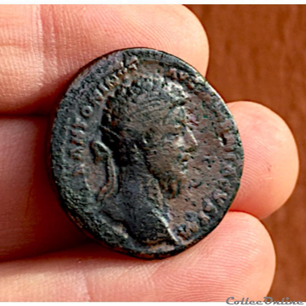 monnaie antique av jc ap romaine marc aurele auguste 161 180 ae dupondius 165 166 rome