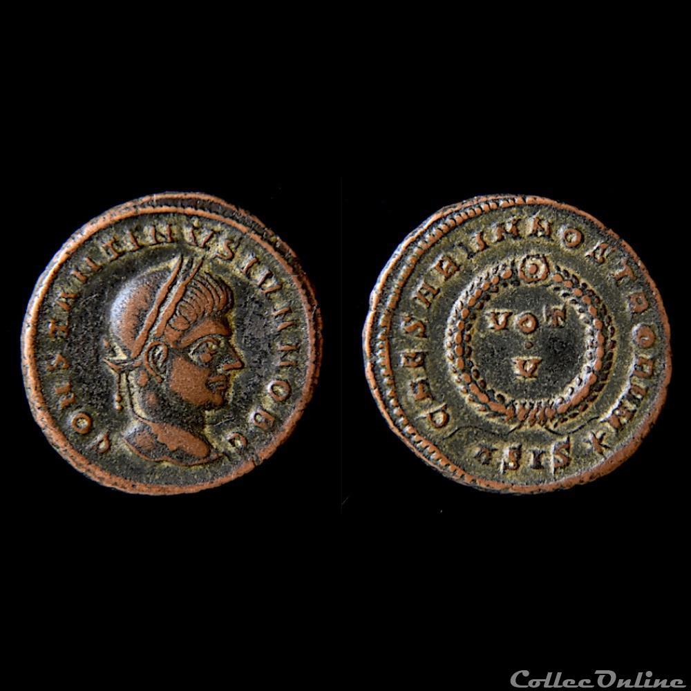 monnaie antique av jc ap romaine constantin ii 1 03 317 04 340 a d atelier sisca ric 163 c1