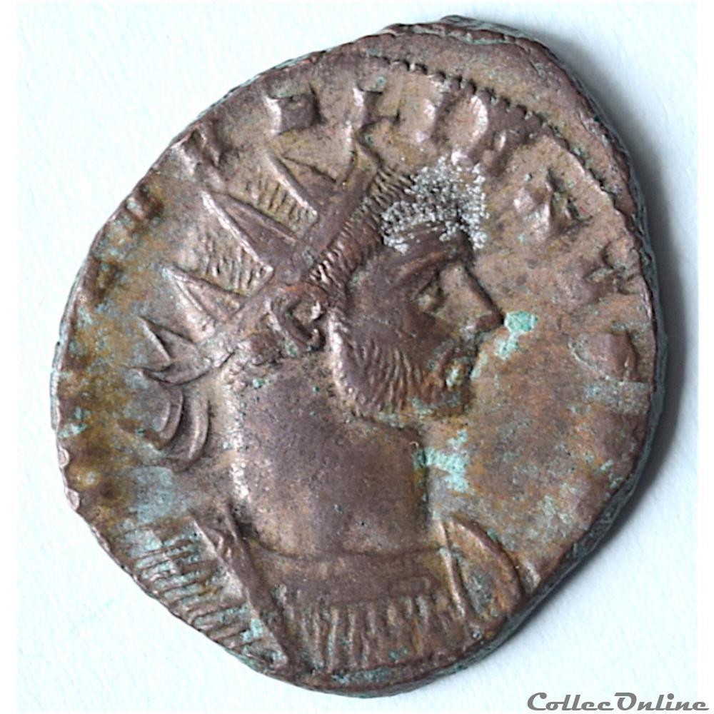 monnaie antique romaine aurelien 270 275 antoninien rome ric 5 1142