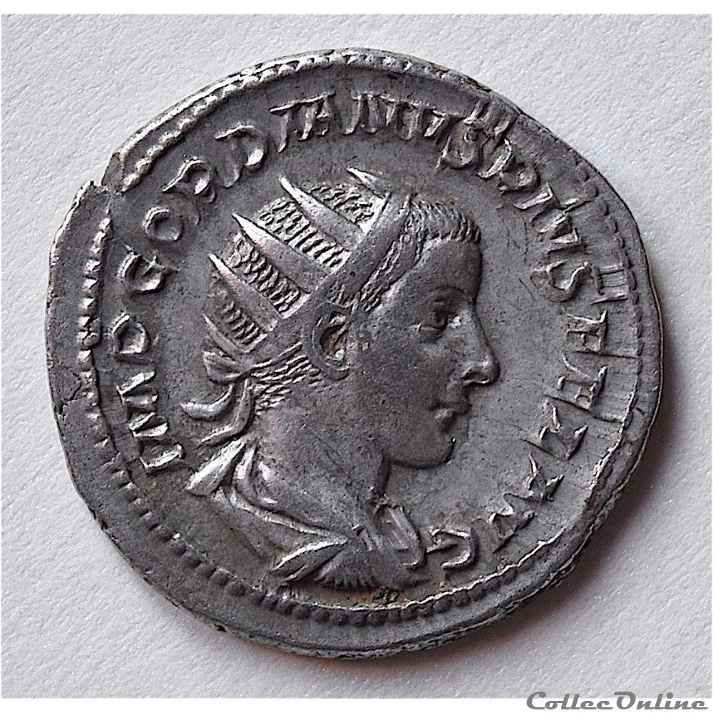 monnaie antique romaine gordien iii antoninien 242 243 rome gordien ric 93