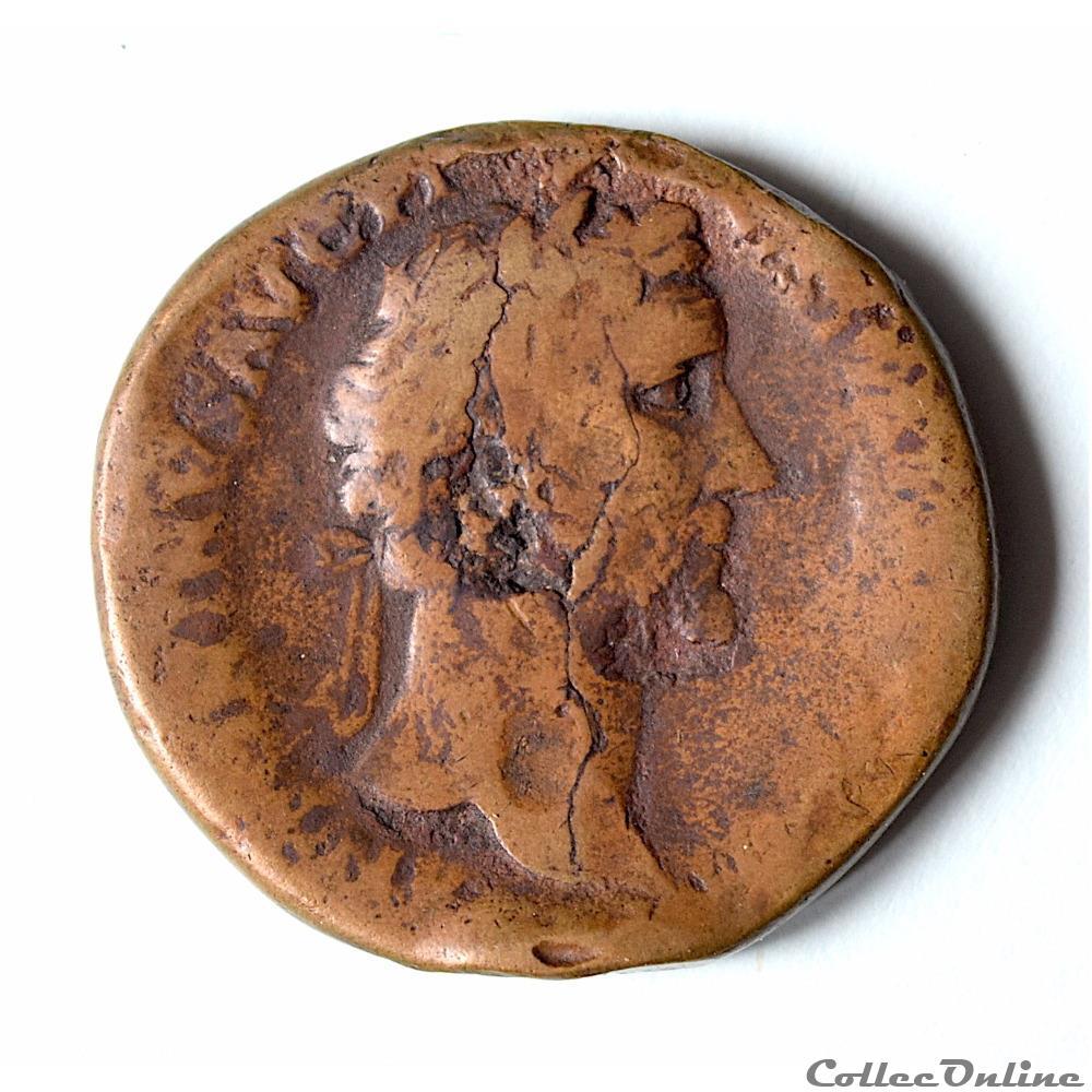 monnaie antique romaine antonin le pieux 138 161