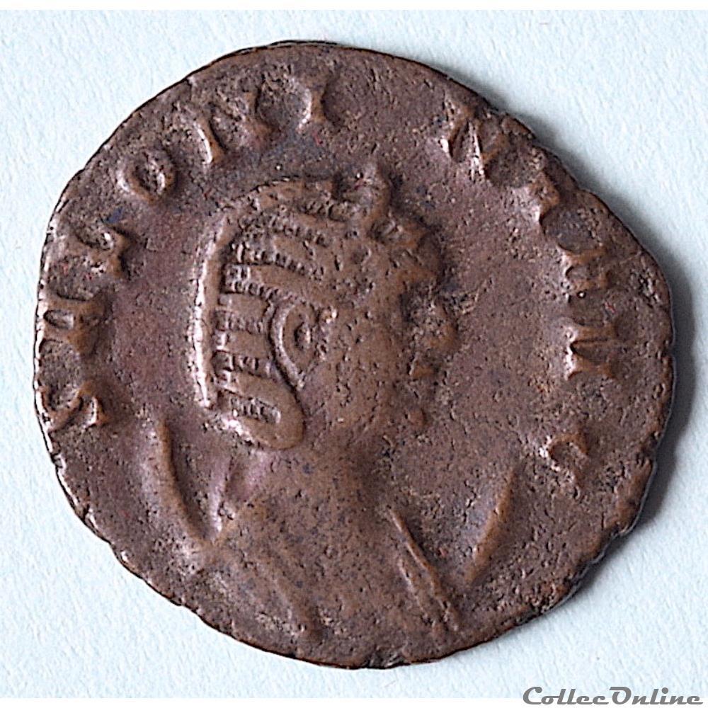 monnaie antique romaine salonine epouse de gallien antoninien milan 1ere officine 262 263 ric 66