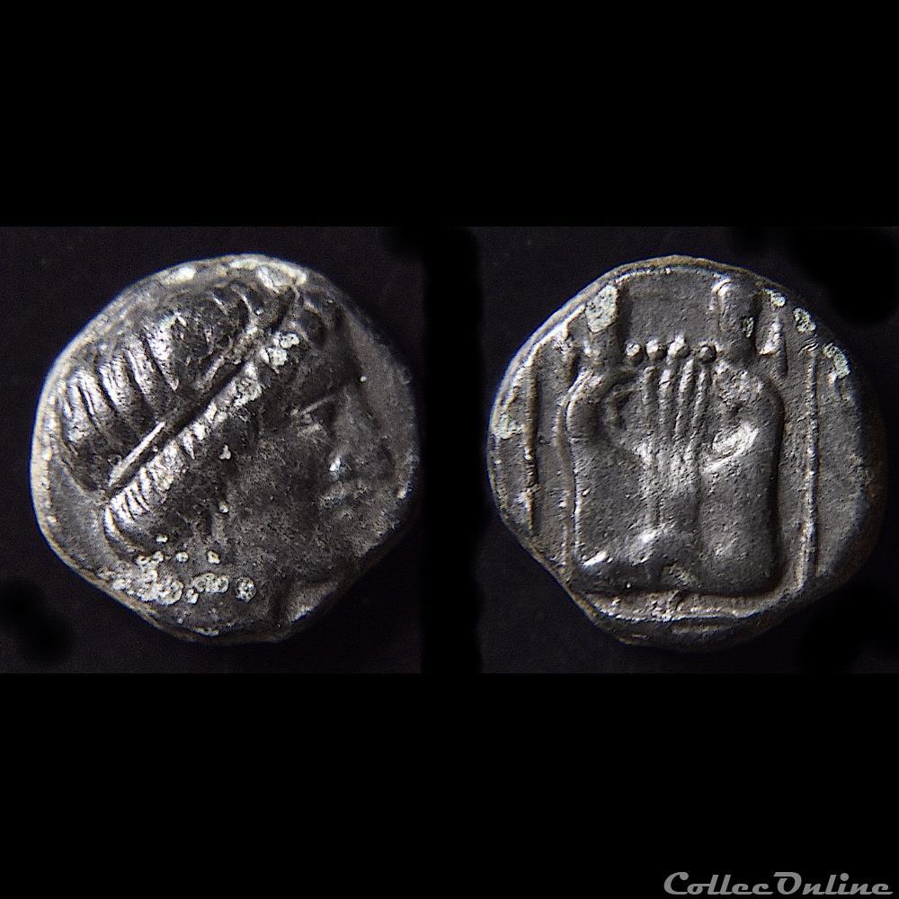 monnaie antique grecque ionia kolophon circa 400 350 bc