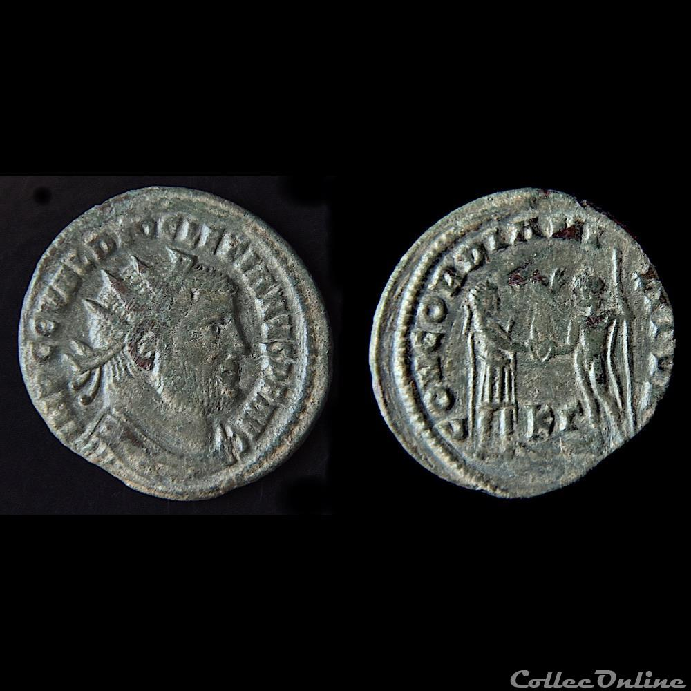 monnaie antique romaine diocletien 284 305 aurelianus ciscia ric 16 a
