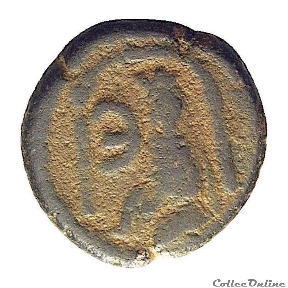 monnaie antique byzantine justinien ier en 527 529 a d pentanummium a tyche antioche sear 240