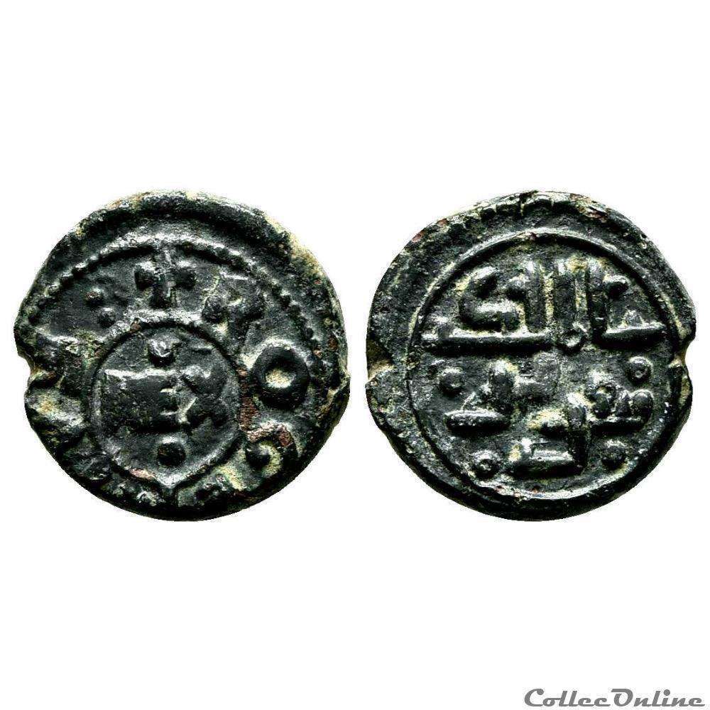 monnaie antique av jc ap autre sicile royaume de tancrede et fils fils roger follis s d 1191 1193 messine
