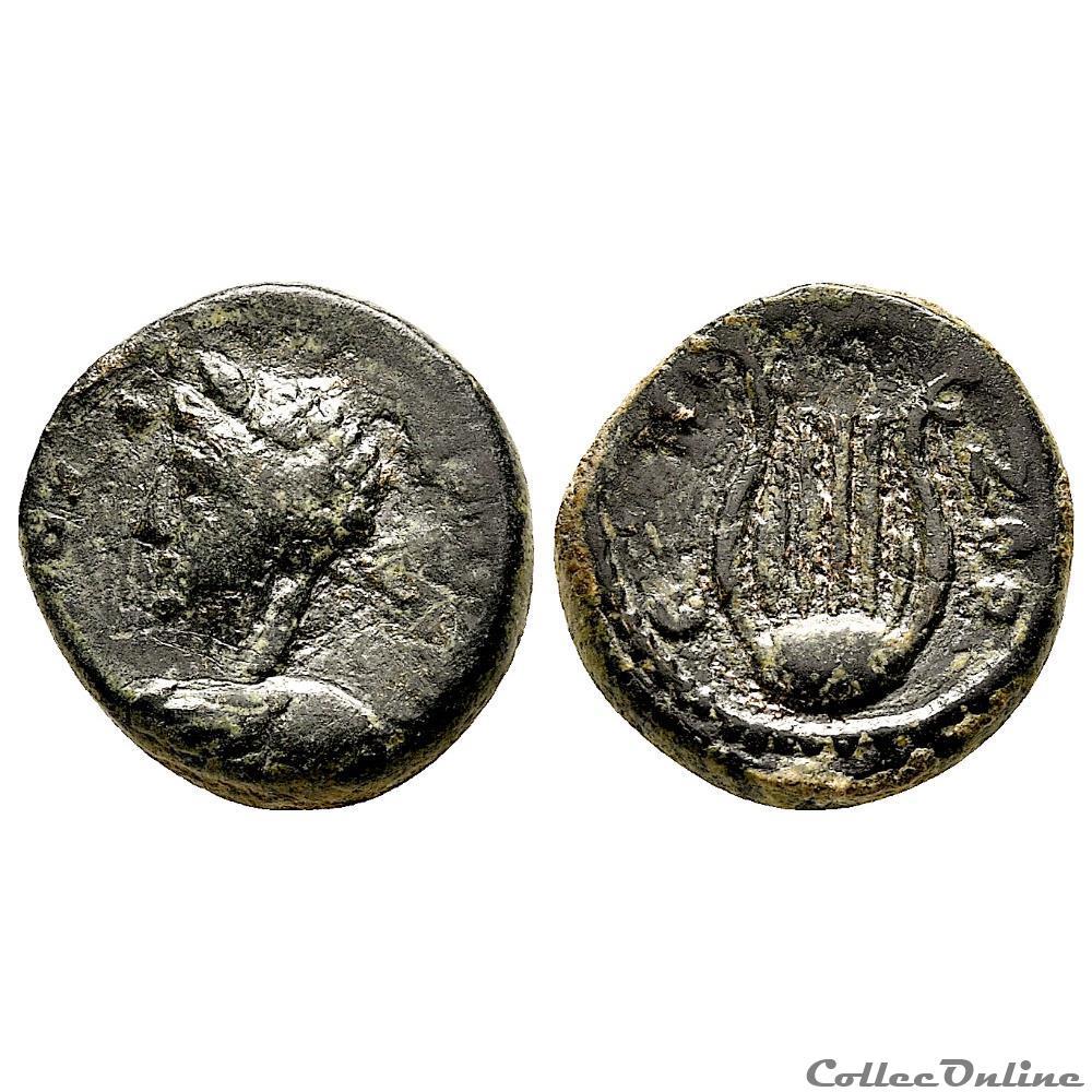 monnaie antique provinciale romaine seleucis et pieria sous hadrien antioche iieme s ap jc