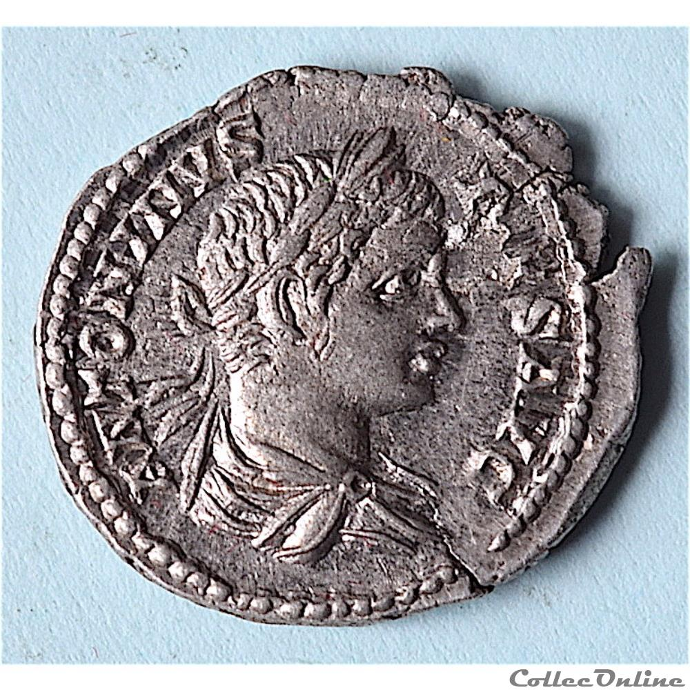 monnaie antique romaine caracalla 193 232 ad denier vota suscepta rome