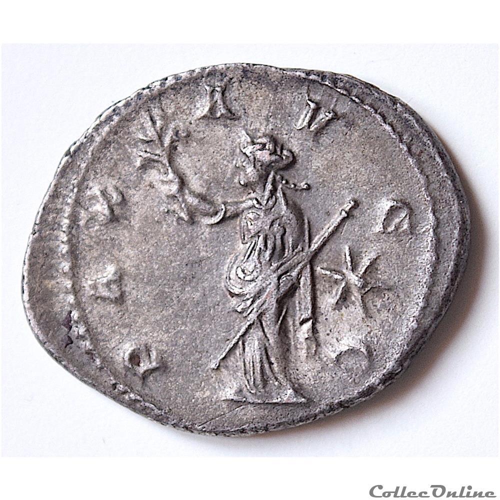 monnaie antique romaine volusien antoninien 251 252 milan ric 179