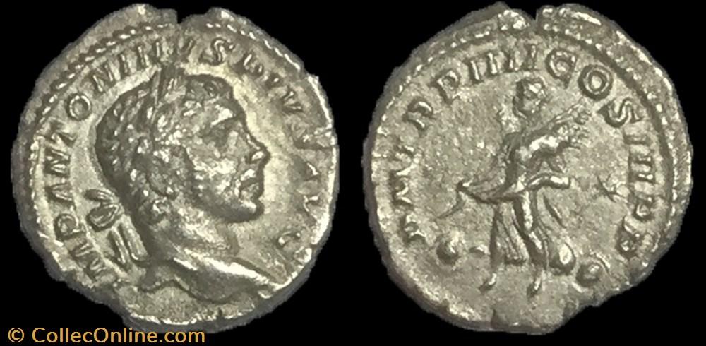 monnaie antique av jc ap romaine denier elagabal