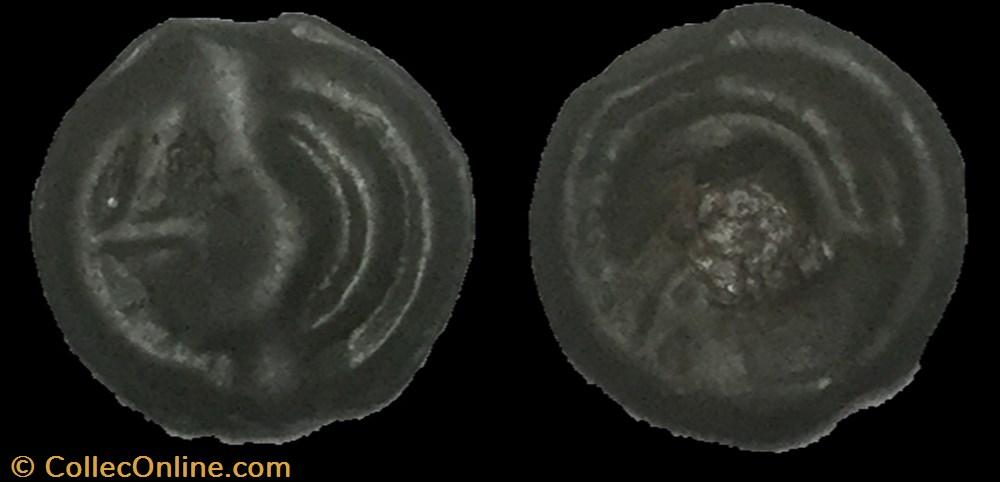 monnaie antique av jc a ap gauloise potin