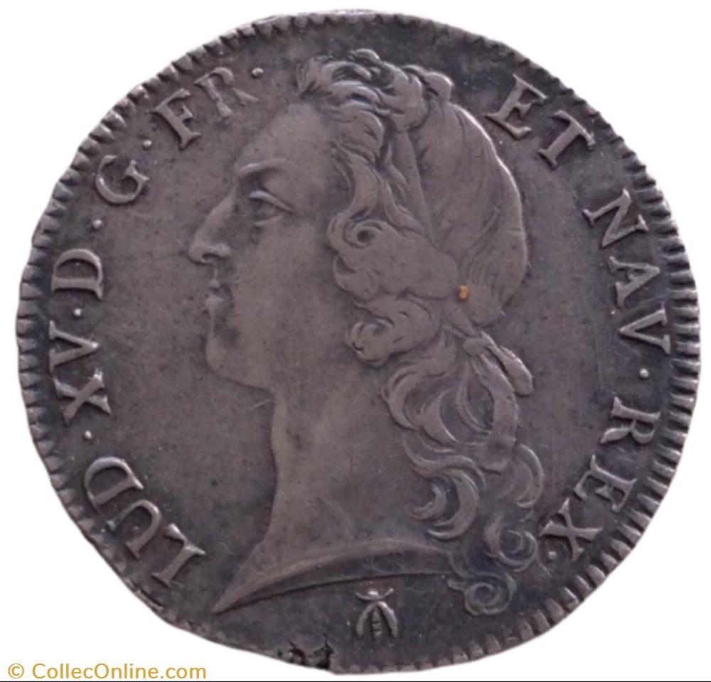 monnaie france royale ecu au bandeau louis xv 1766 m toulouse