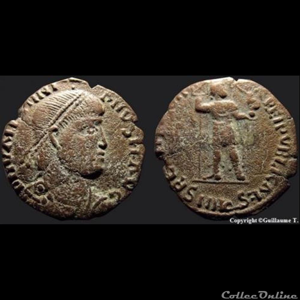 monnaie antique romaine 15 restitvtor reipvblicae aquilee