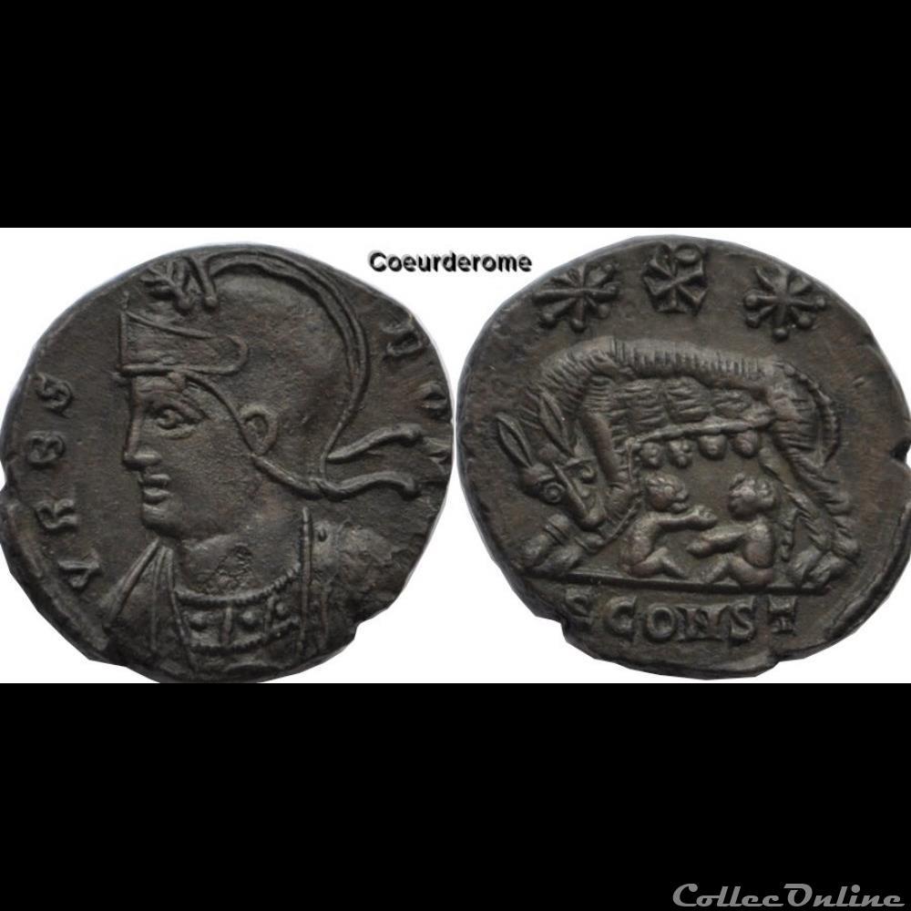 monnaie antique av jc ap romaine vrbs roma