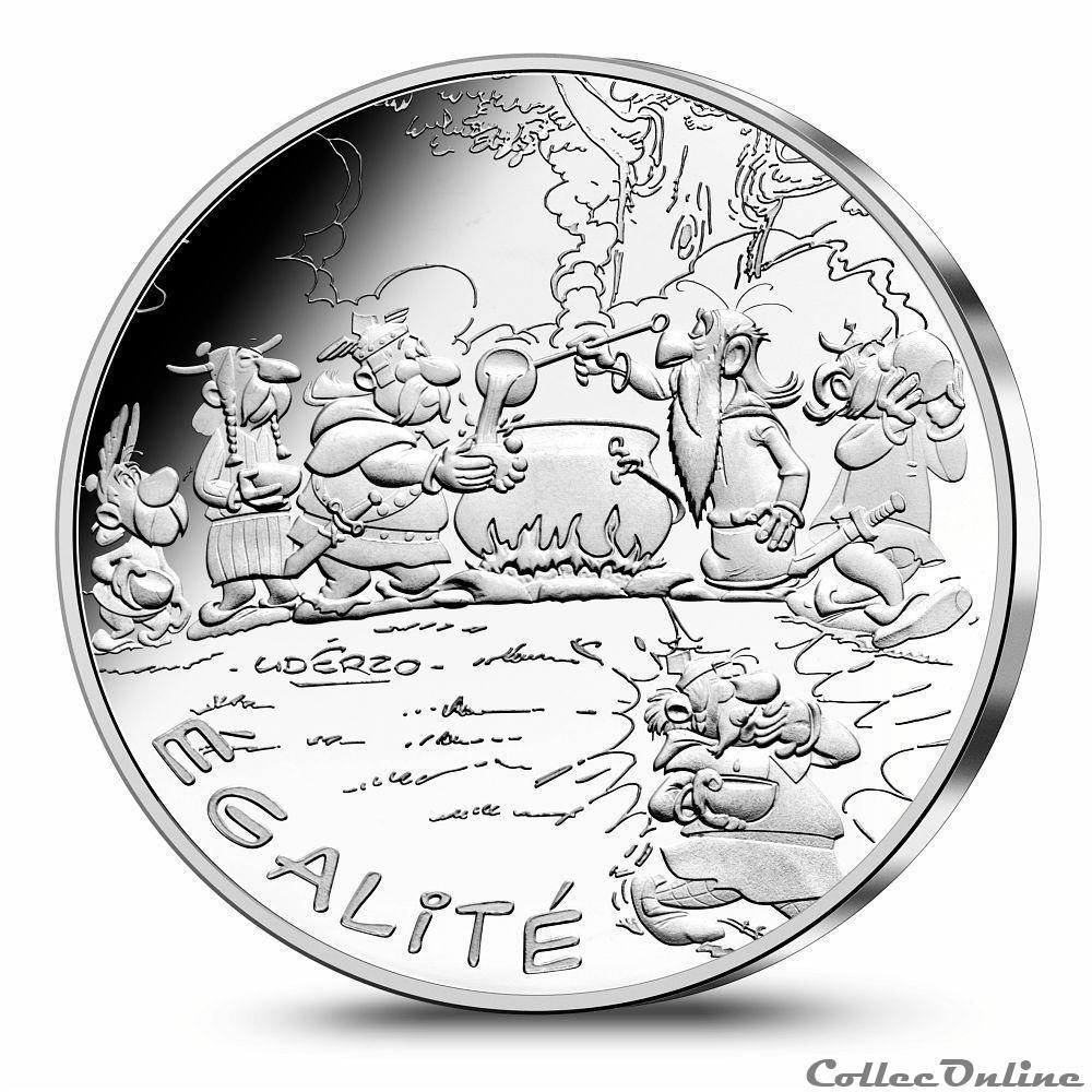 jeton mereaux france republique asterix monnaie de 10 argent egalite distribution potion