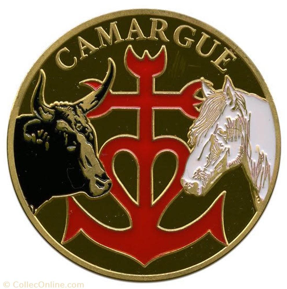 monnaie souvenirs et patrimoine la camargue 30 origine de la croix