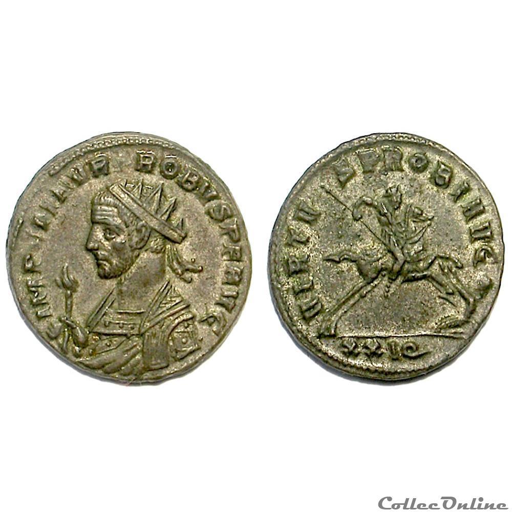 munzen antike vor j c nach romische virtvs probi avg