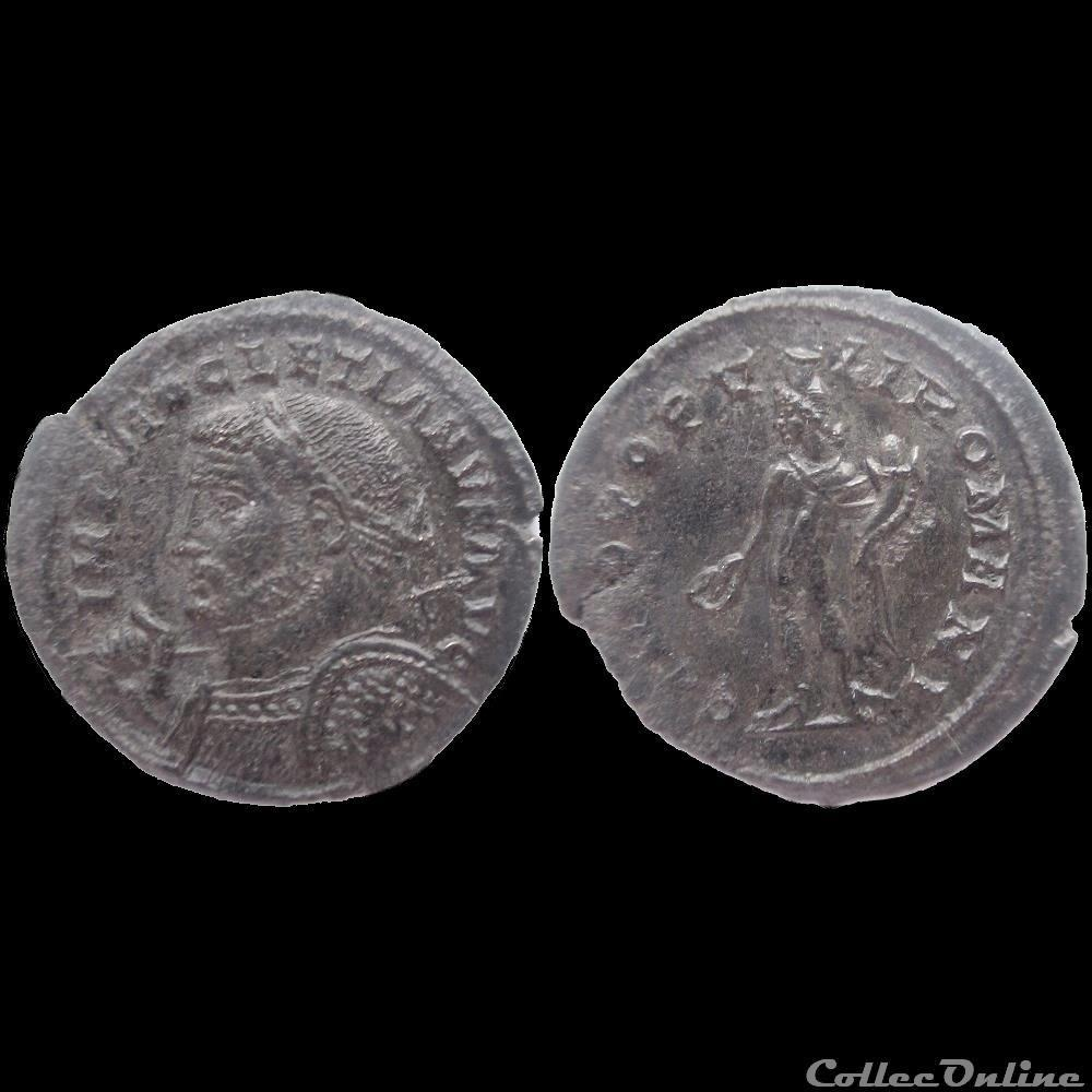 monnaie antique av jc a ap romaine follis diocletien londres 304 305