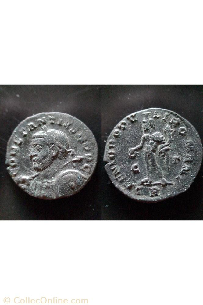 monnaie antique av jc ap romaine follis constance chlore