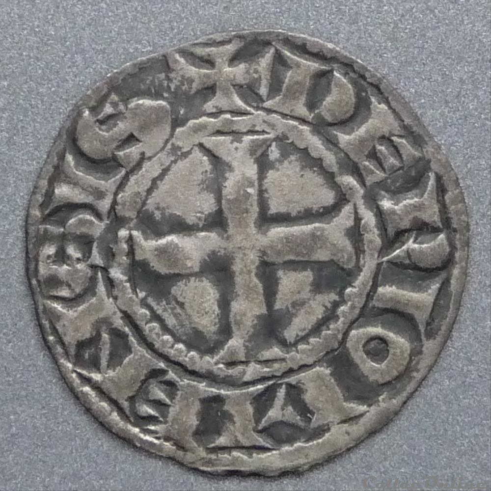 monnaie france feodale alphonse de poitiers 1241 1271 denier