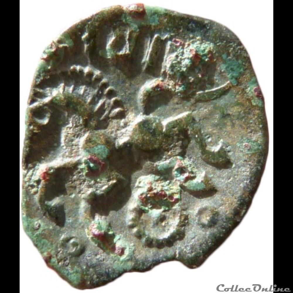 monnaie antique gauloise serie 55 dt 505 bronze viiricivs