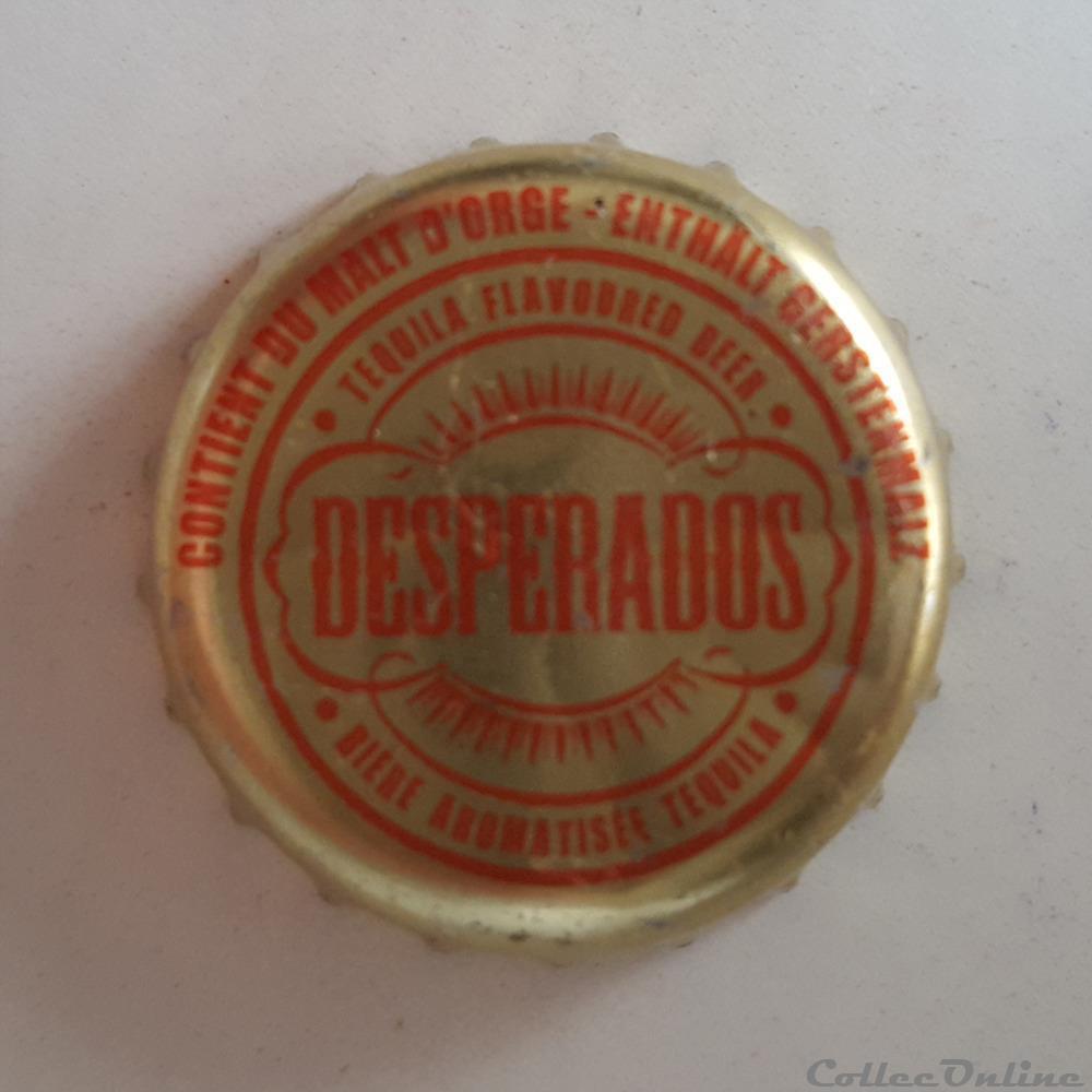 Desperados Bottle Caps Beer France Format