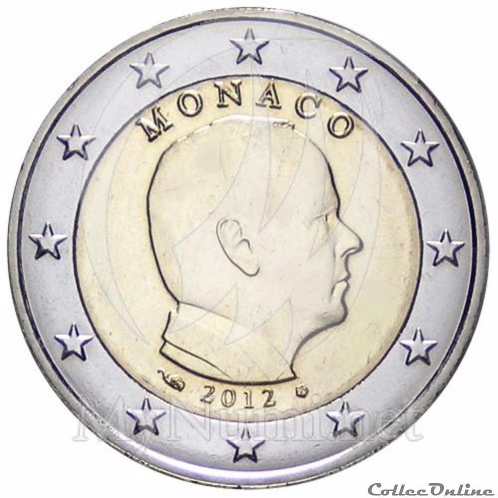 monnaie euro monaco alberto unc