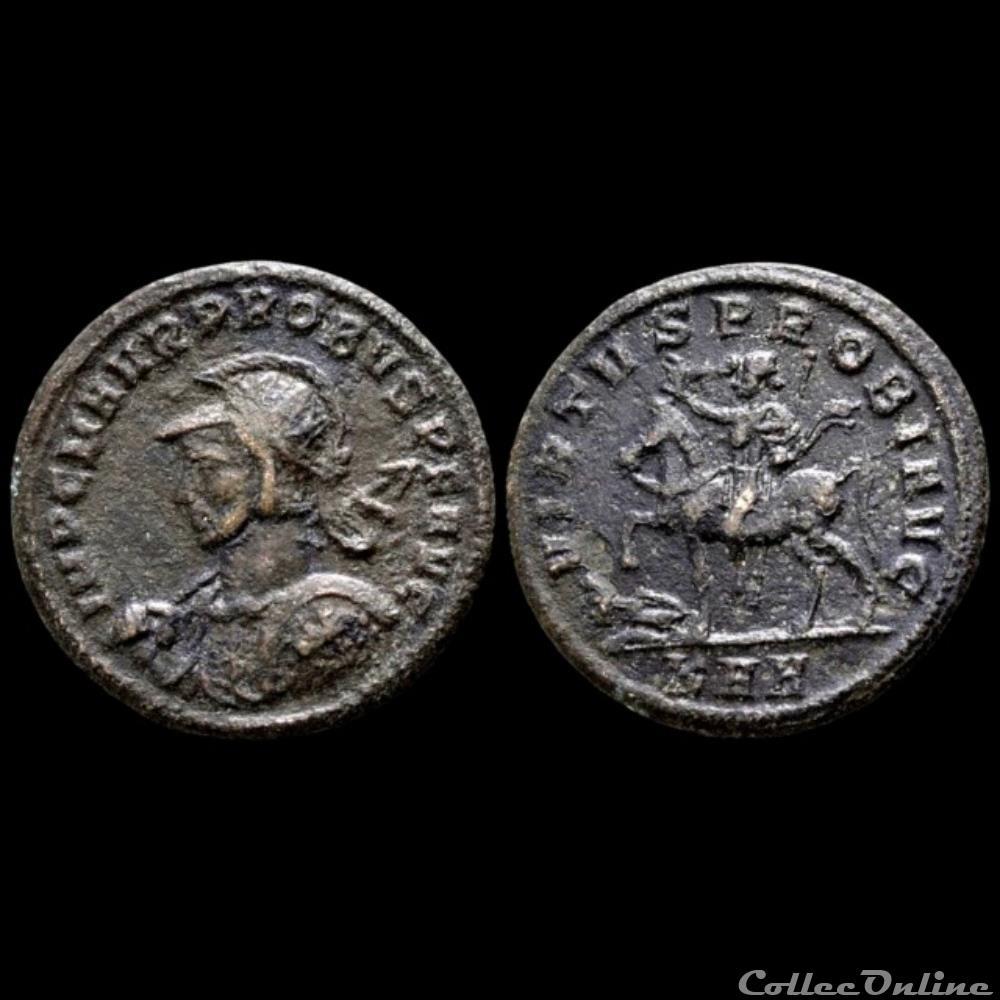 monnaie antique av jc ap romaine probus aurelianus