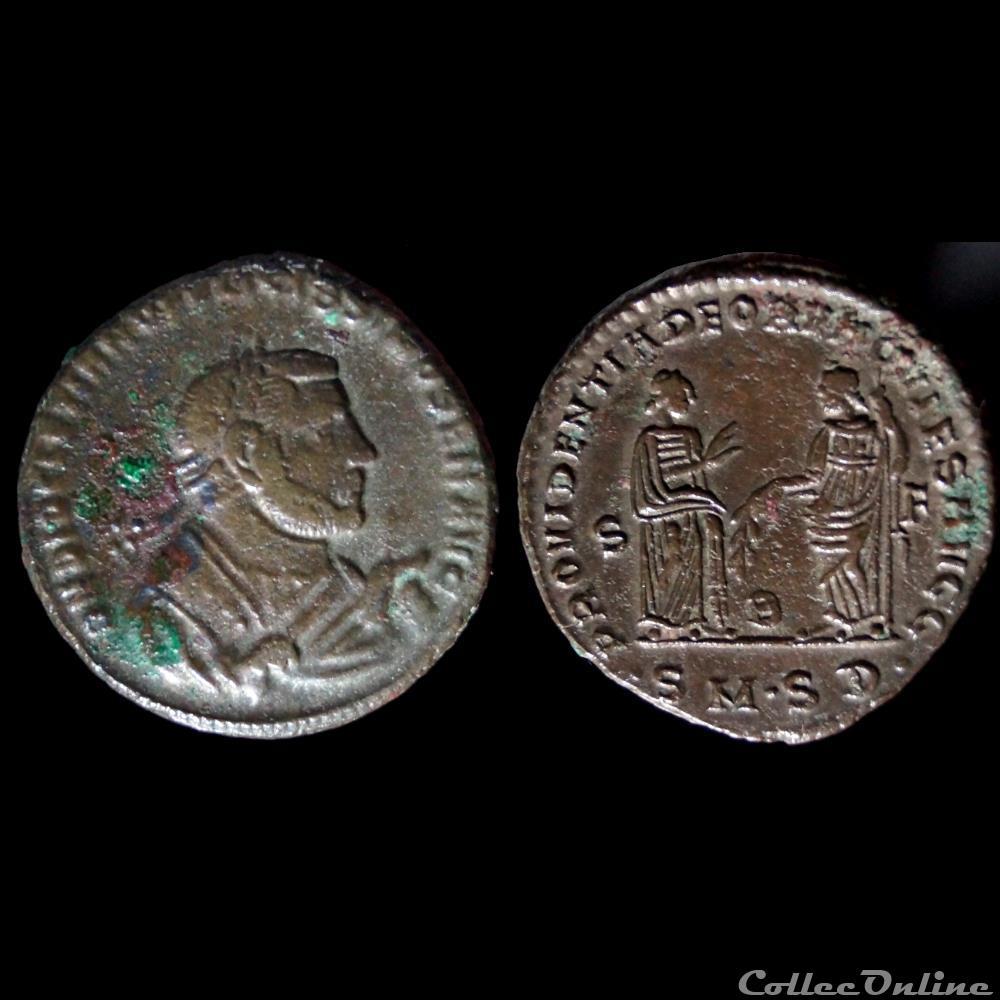monnaie antique romaine diocletien follis