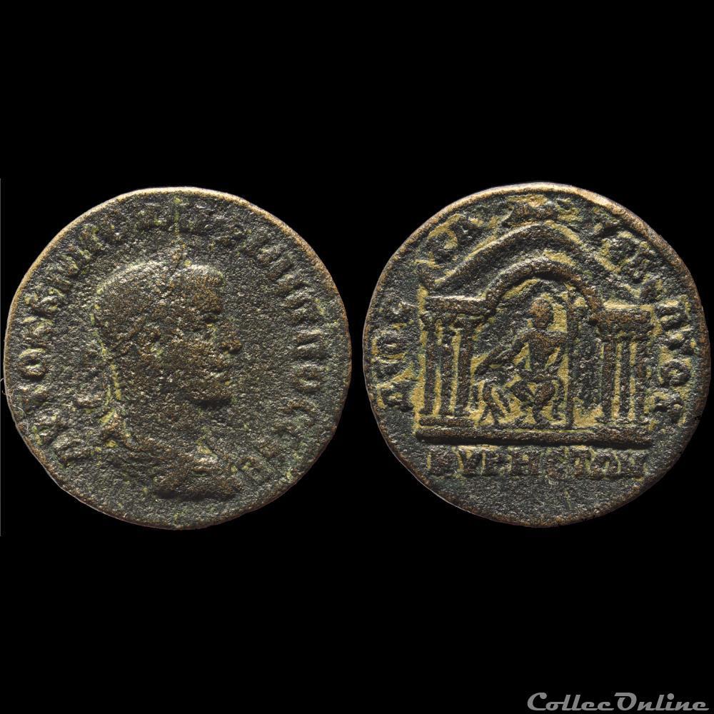 monnaie antique romaine provinciale macedoine philippes auguste assarion