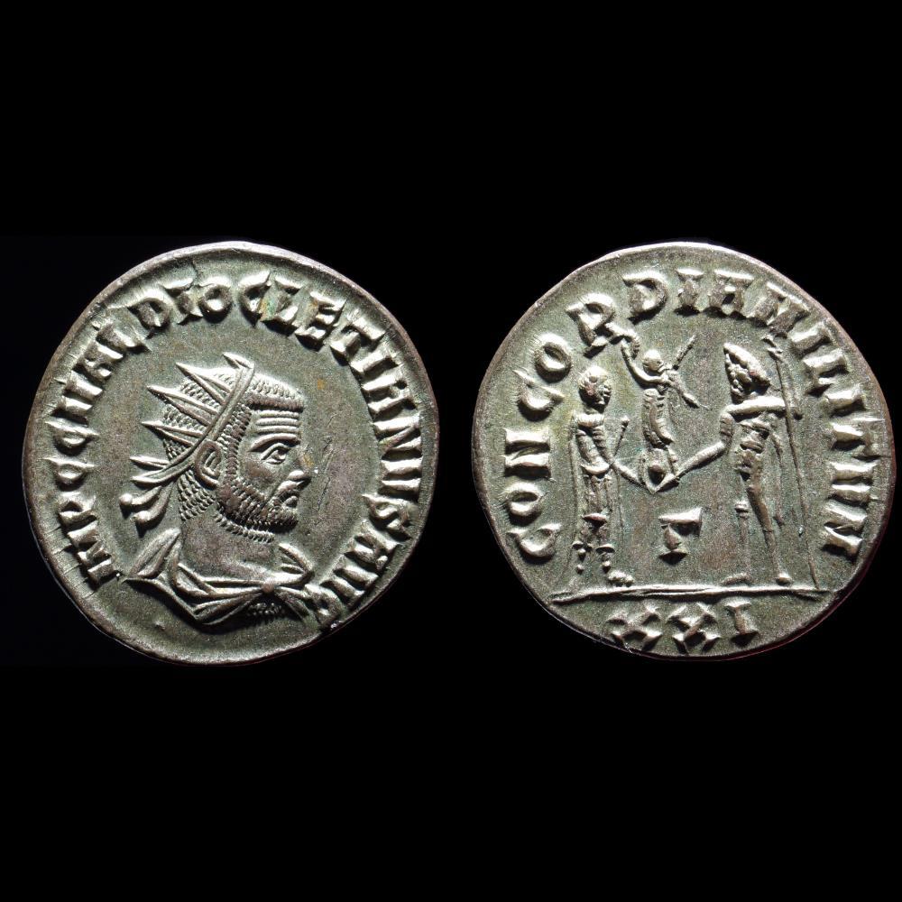 monnaie antique romaine diocletien aurelianus