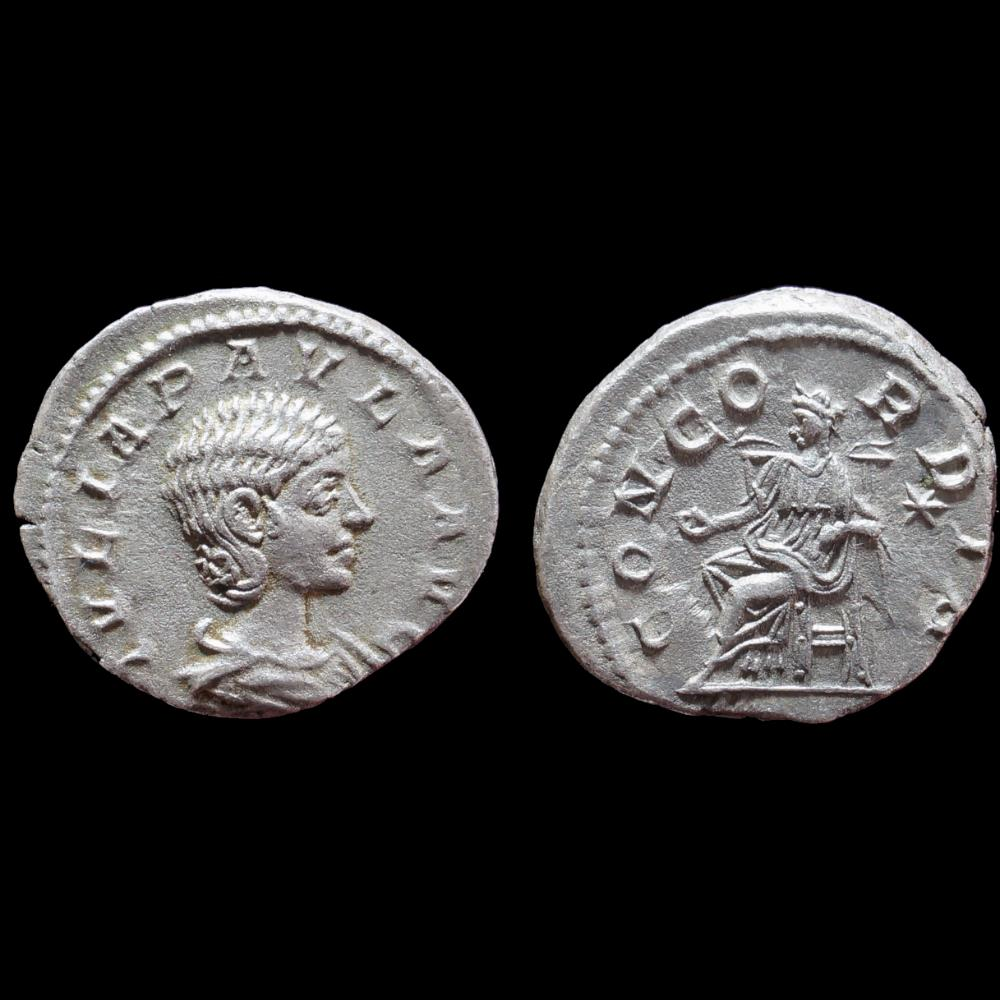 monnaie antique romaine julia paula denier
