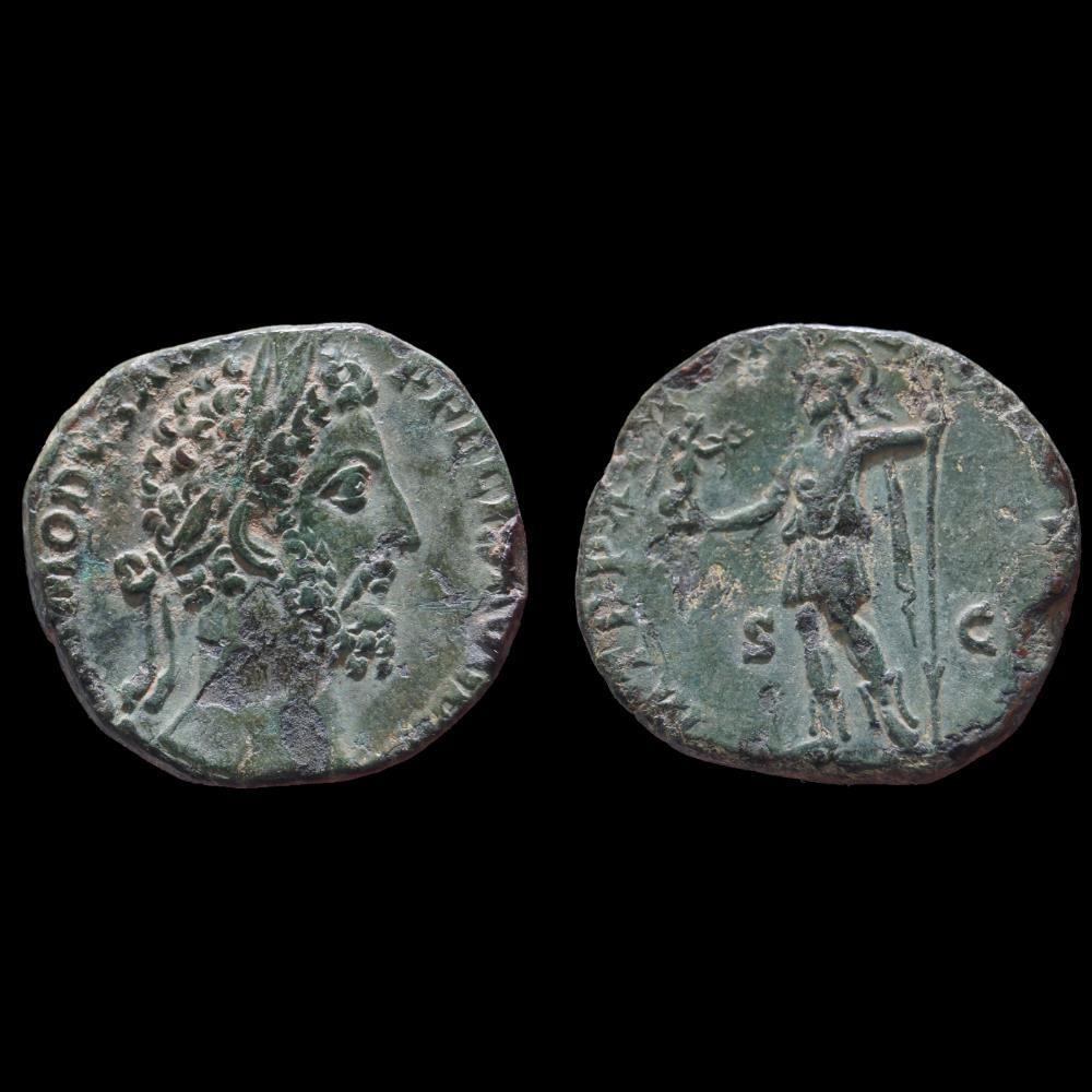 monnaie antique romaine commode sesterce