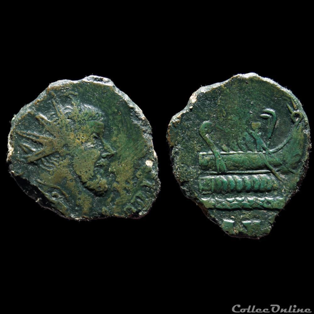 monnaie antique romaine postume double sesterce