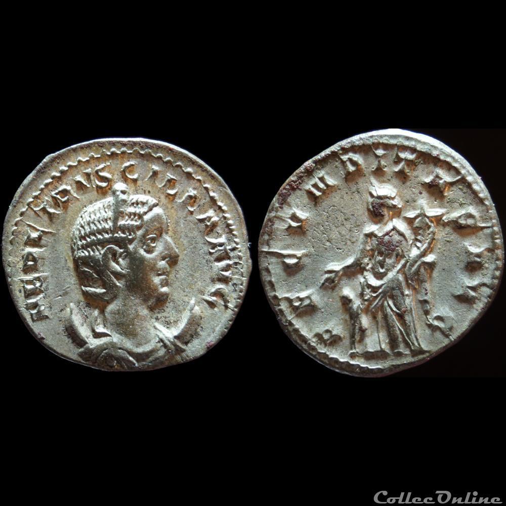 monnaie antique romaine etruscille antoninien