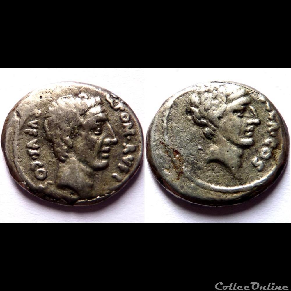 monnaie antique romaine denier pompeia quintus pompeius rufus faux moderne