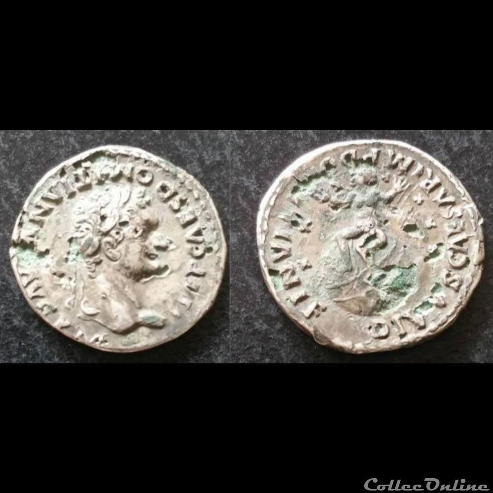 monnaie antique av jc a ap romaine domitien denier