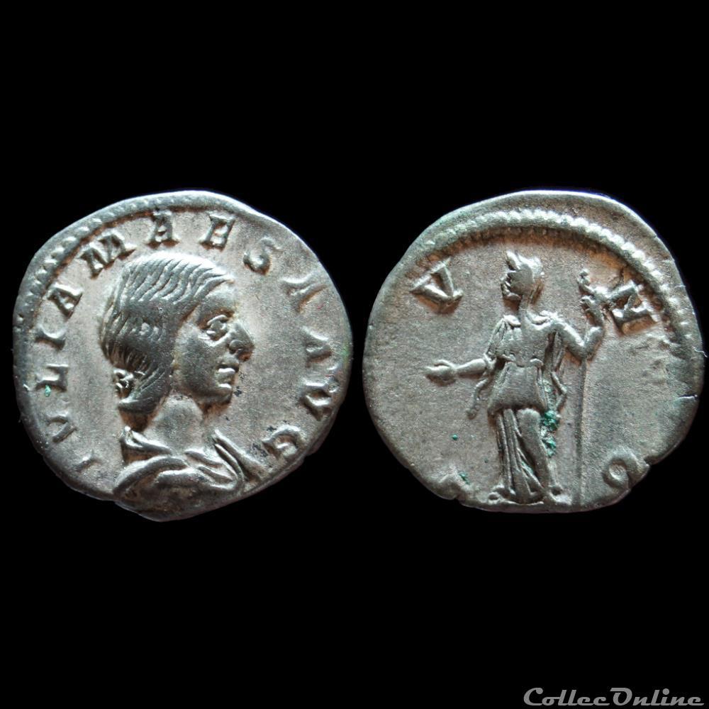 monnaie antique romaine julia maesa denier