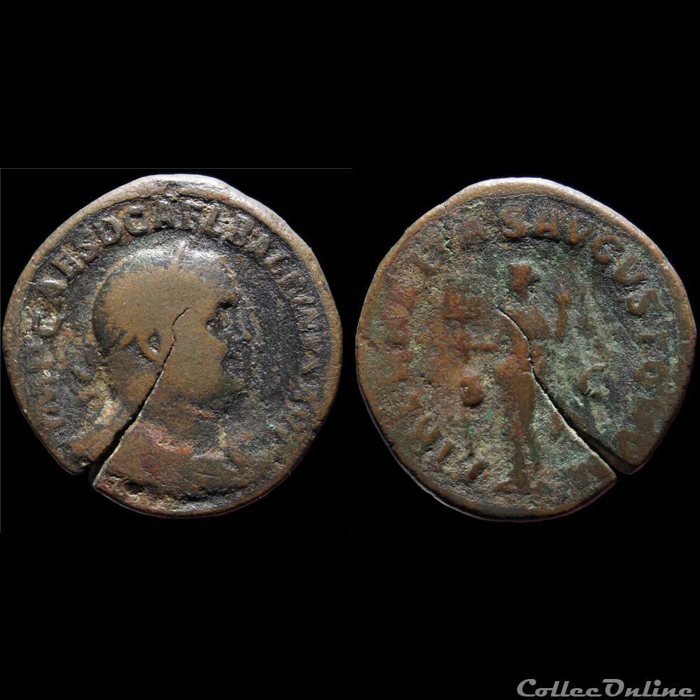 monnaie antique romaine balbin sesterce