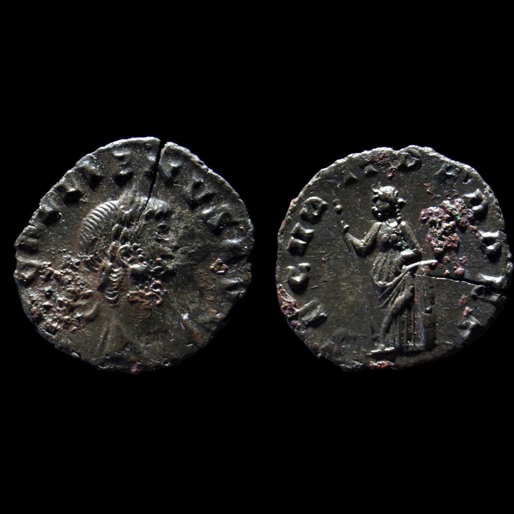 monnaie antique romaine gallien denier