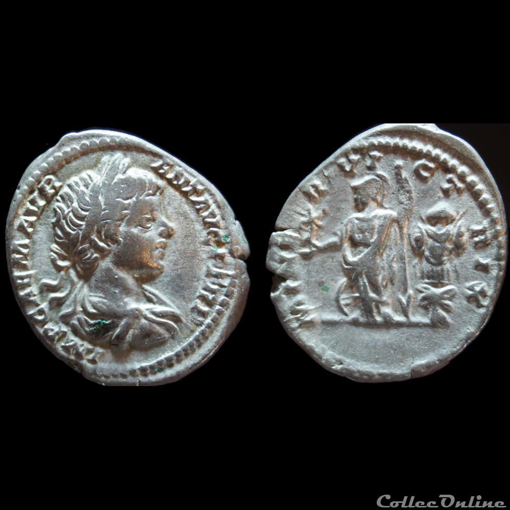 monnaie antique romaine caracalla denier