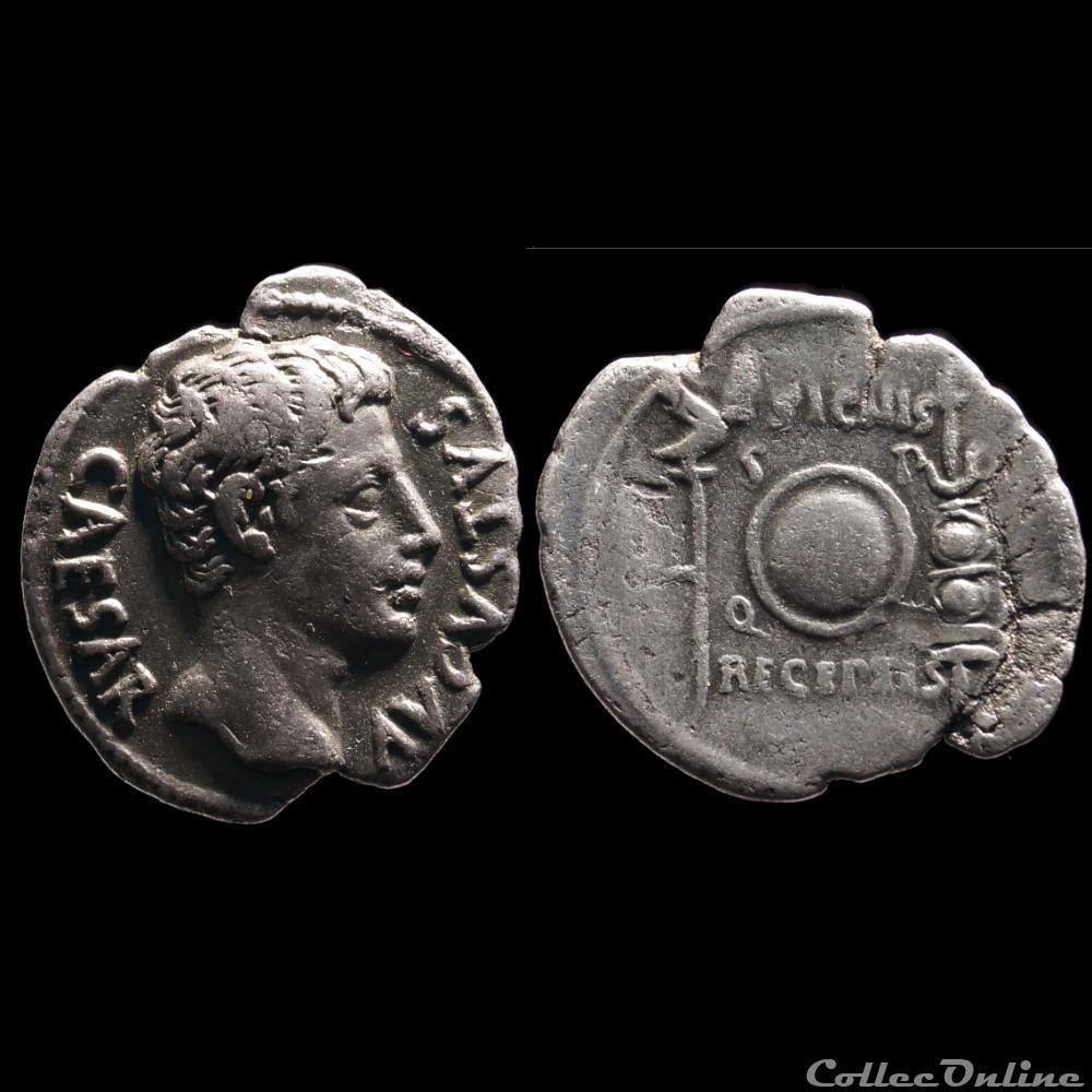 monnaie antique romaine auguste denier